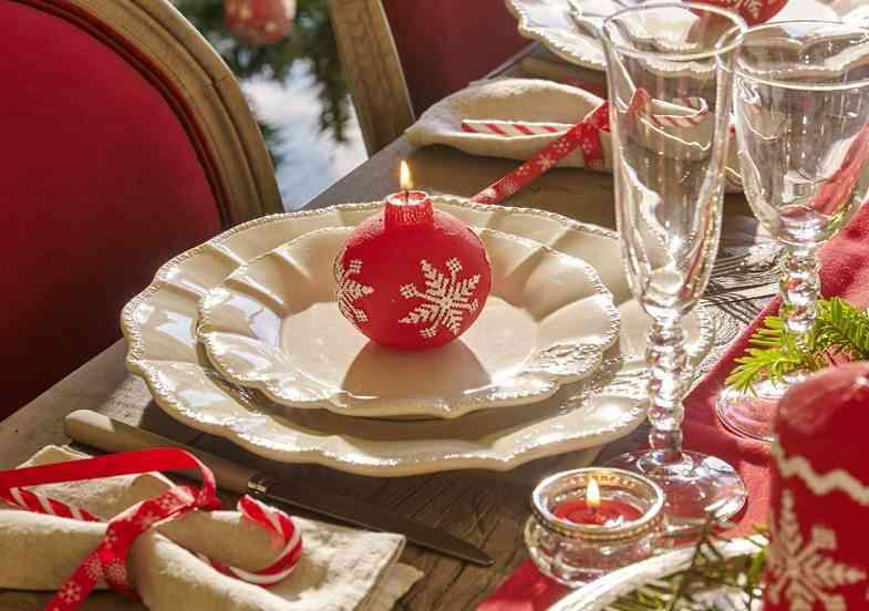 Ideas de mesas decoradas para navidad for Vajillas elegantes