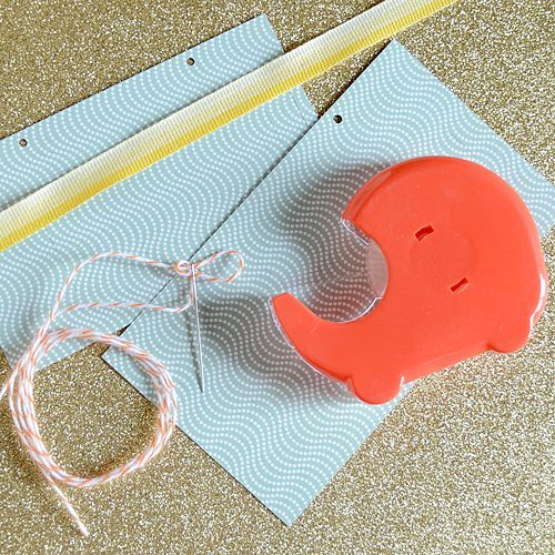 Manualidad de Navidad - farolillos de papel - materiales necesarios