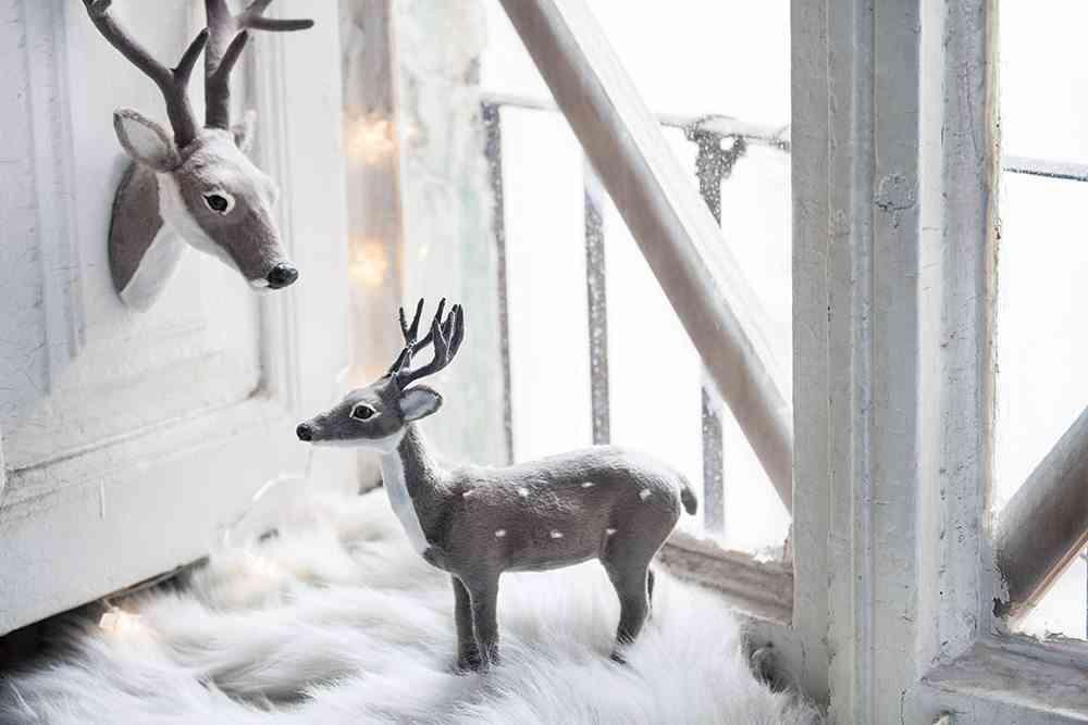 tendencias de decoración navideña muymucho ciervos