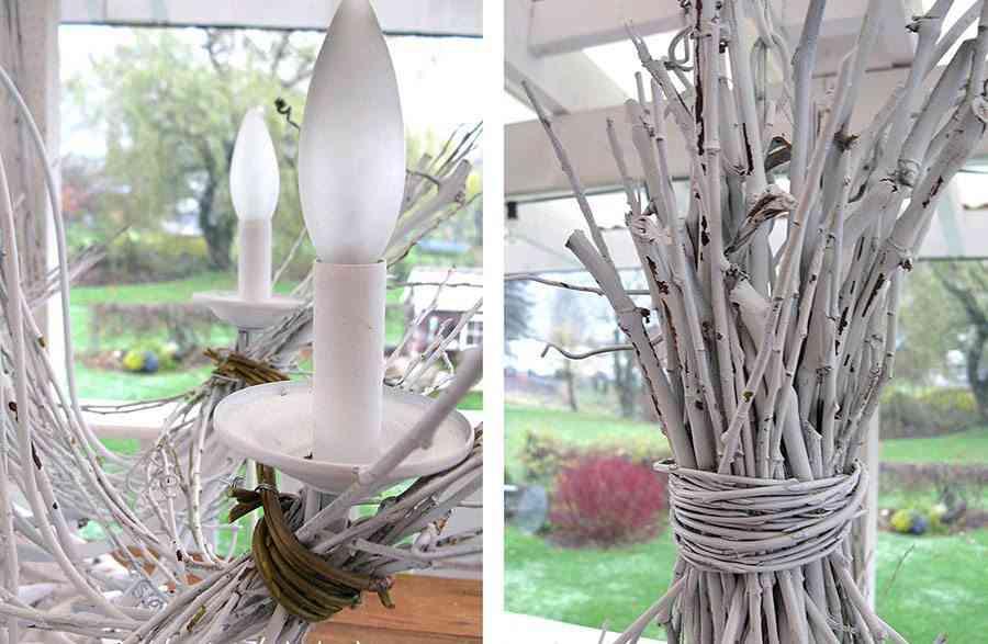lámpara de araña paso 6