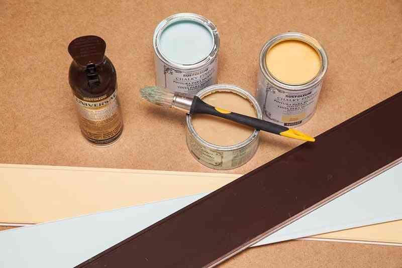 renovar el baño pintar friso 2