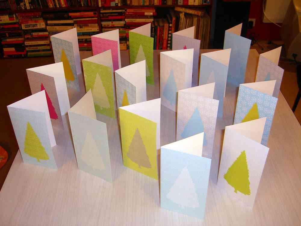 decorar postales de Navidad susan fitzgerald