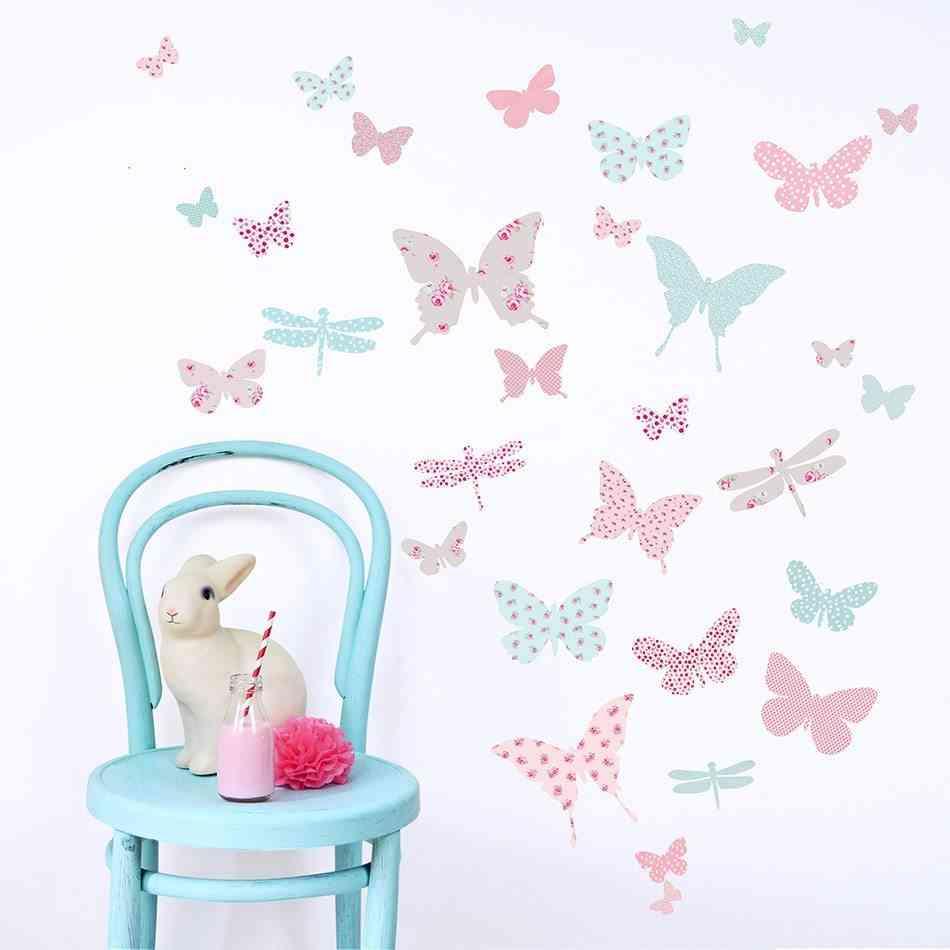 Butterfly vivnilos dormitorio romantico para ninas
