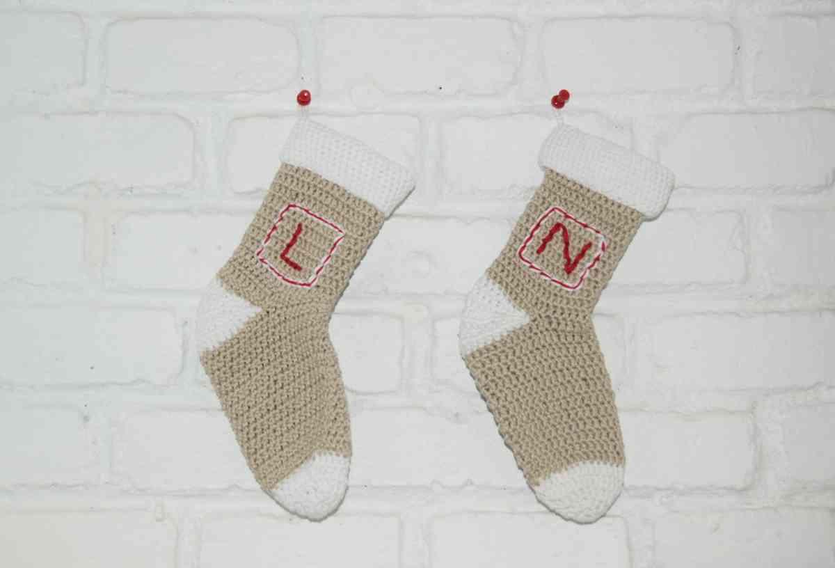 DIY: Cómo hacer calcetines de Navidad a ganchillo