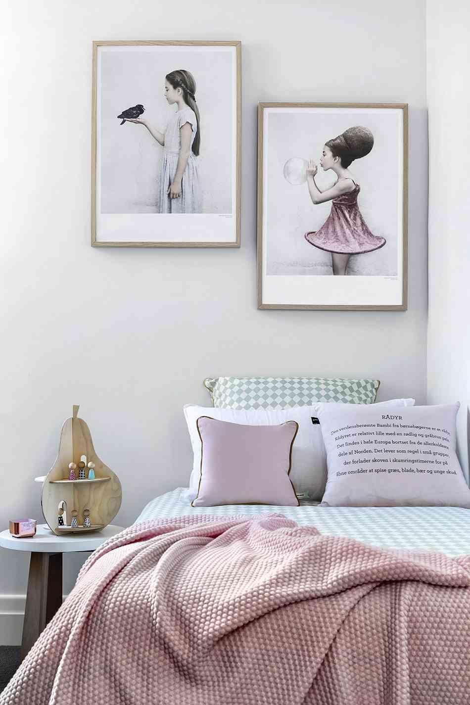 redecorar el dormitorio cama colcha rosa