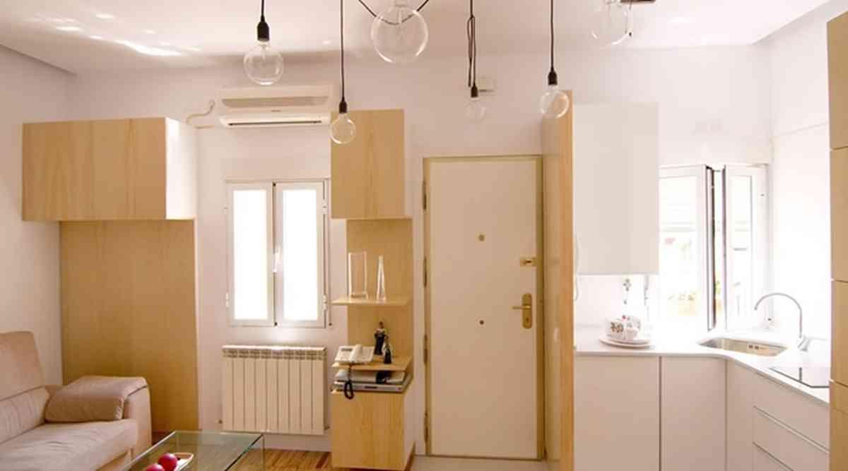 El antes y el despu s de cuatro cocinas peque as for Cocina 15 metros cuadrados