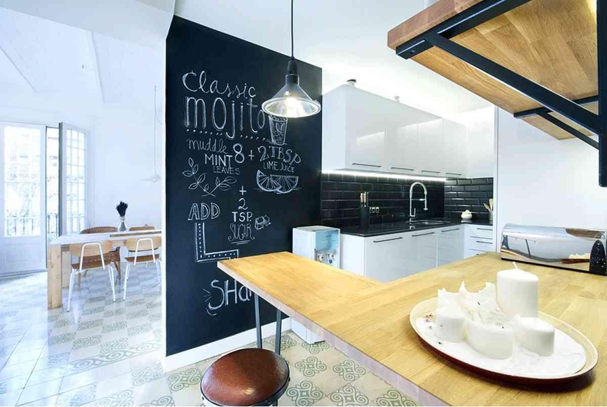 El antes y el despu s de cuatro cocinas peque as for Decoracion casas 55 metros