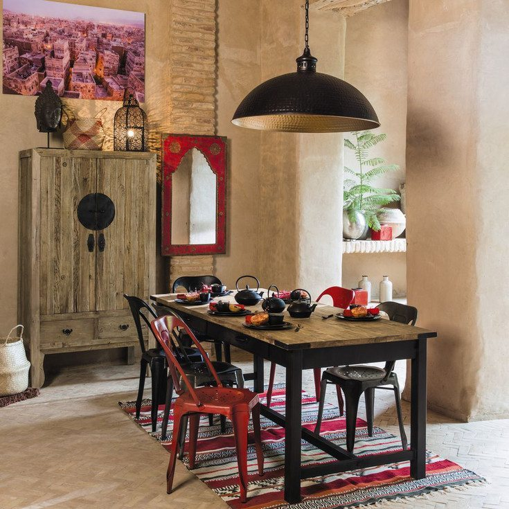 5 claves para decorar al estilo oriental for Comedor oriental