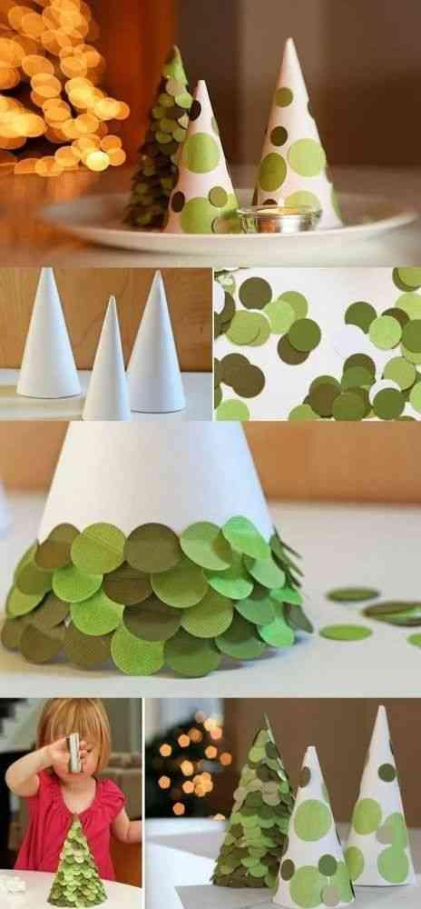 decorar la mesa infantil en navidad centro de mesa