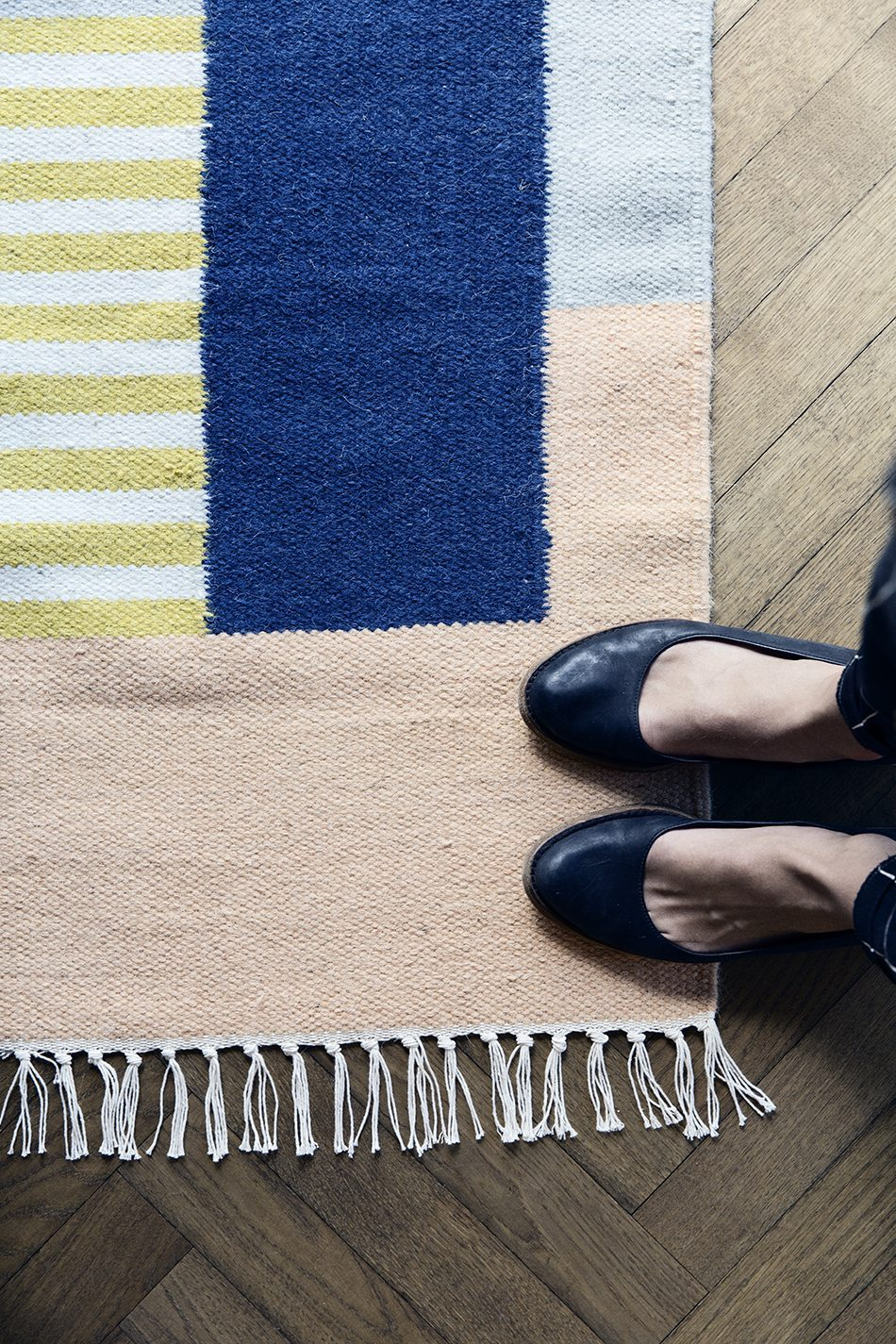 elegir las alfombras detalle ferm