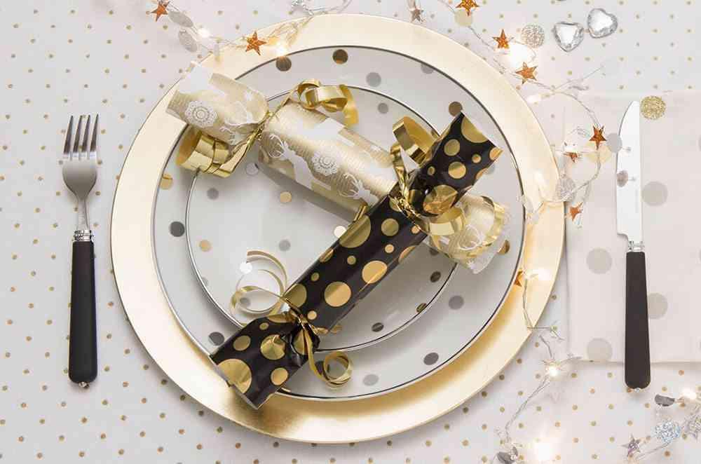 detalles de navidad crackers
