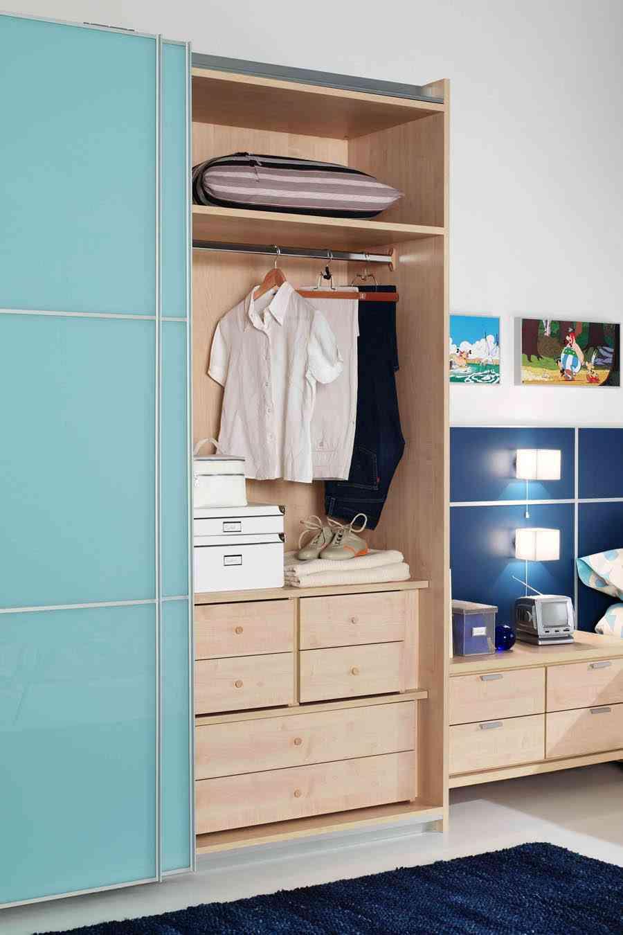 armario empotrado interior del armario facilmobel