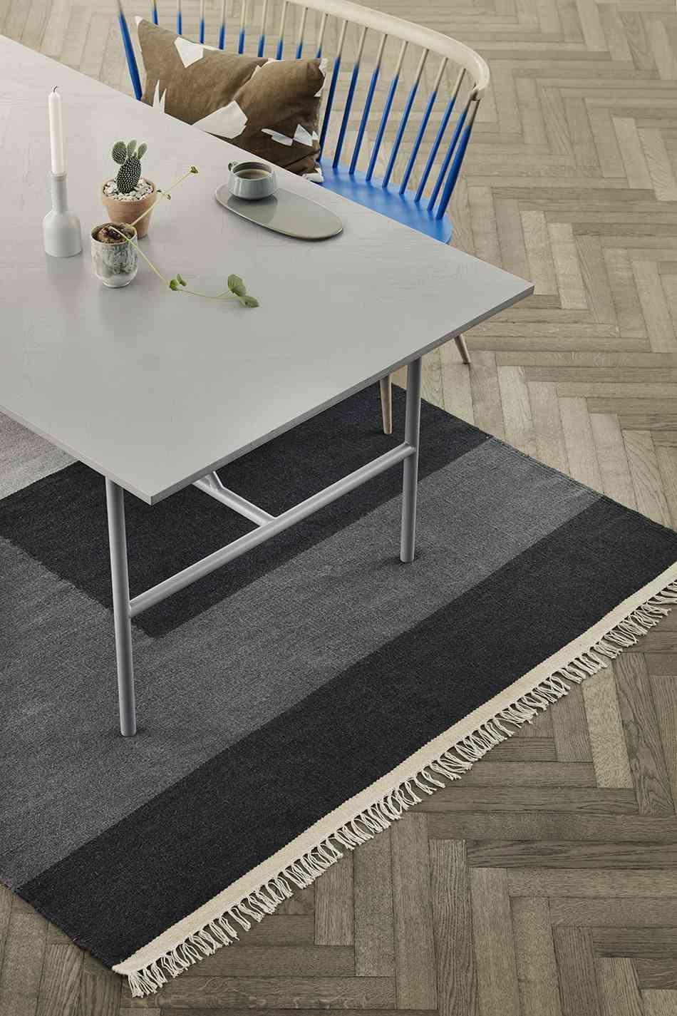 elegir las alfombras ferm comedor