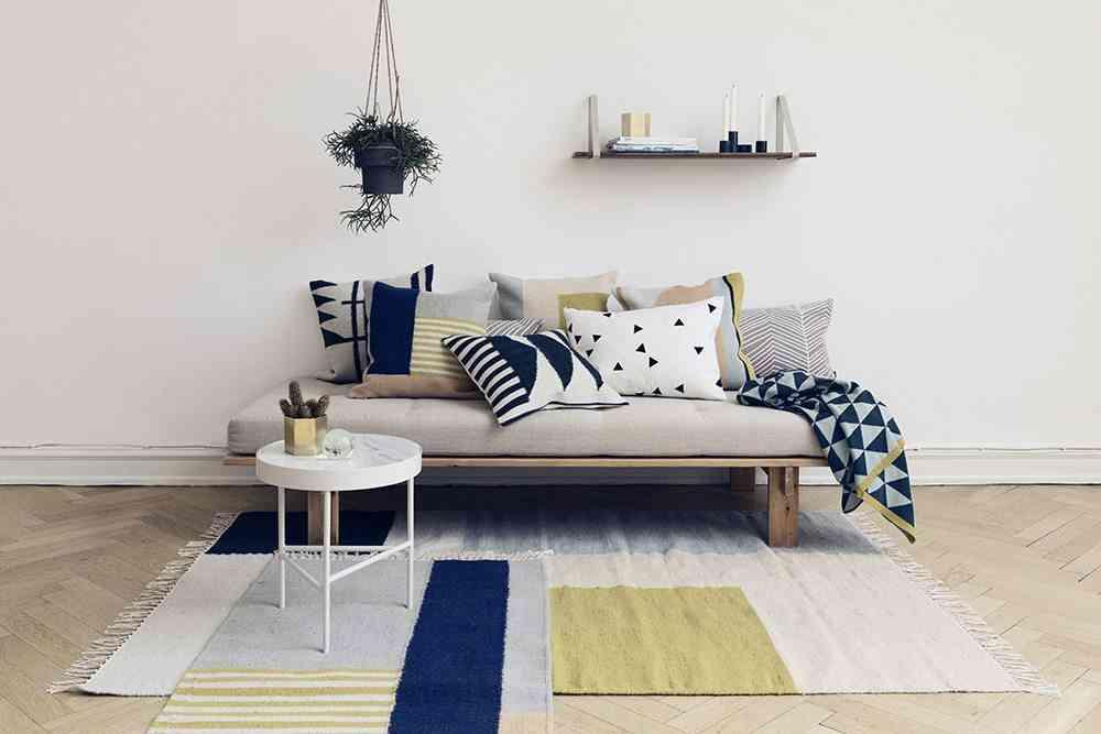 elegir las alfombras ferm salon