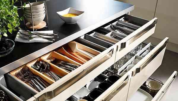 amueblar la cocina ikea organizador cajon