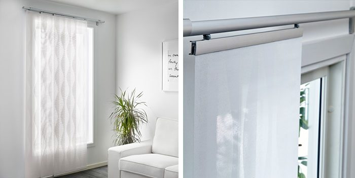 Por qu elegir paneles japoneses para decorar las ventanas - Estores screen ikea ...