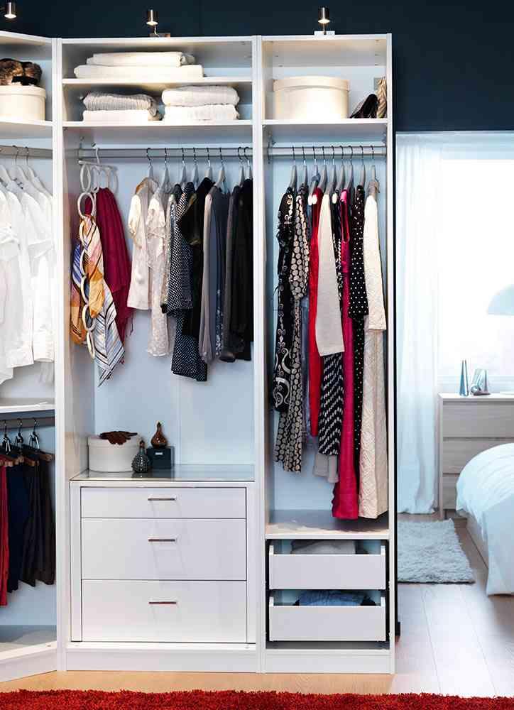Claves para dise ar el interior del armario empotrado - Como forrar un armario por dentro ...