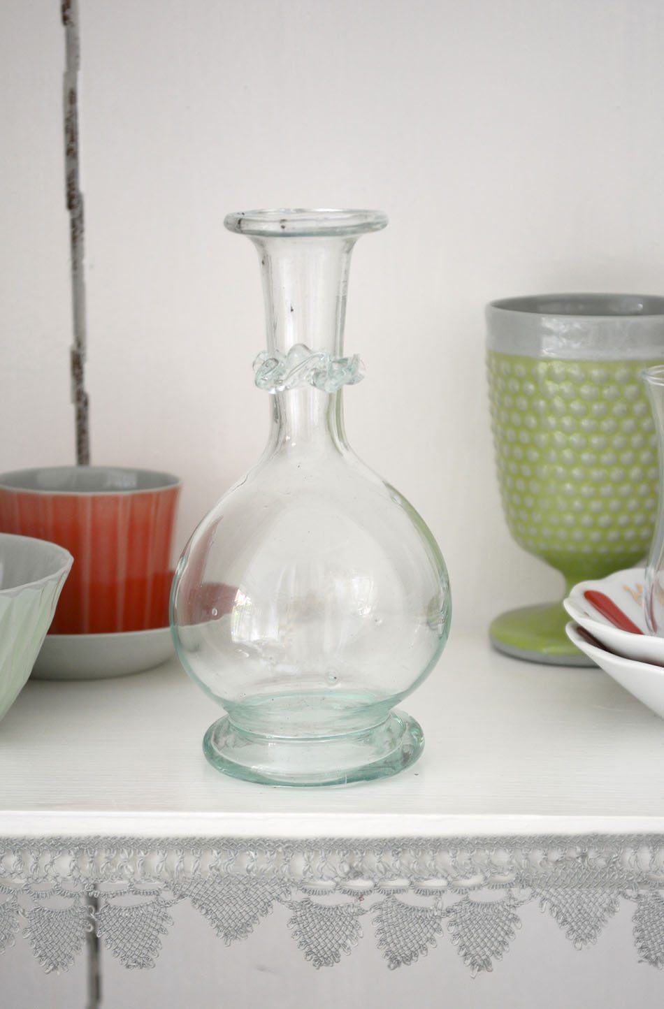 jarron Ottomania objetos de cristal relucientes
