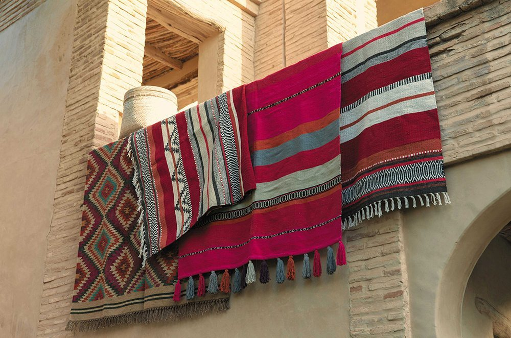 elegir las alfombras kilimns maisons