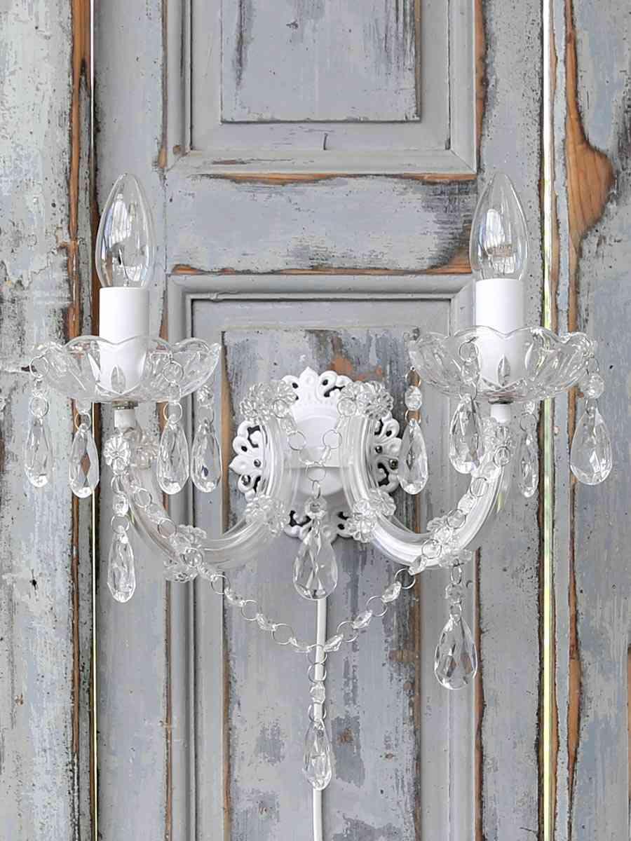 lampara arana objetos de cristal relucientes