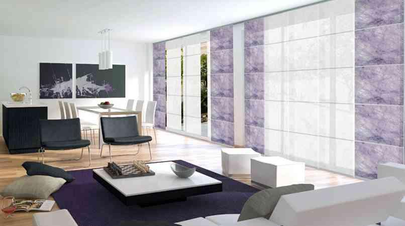 Por qu elegir paneles japoneses para decorar las ventanas - Estores y paneles japoneses ...