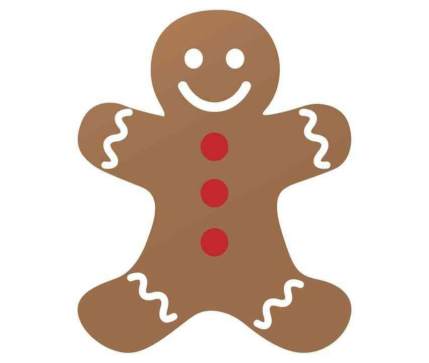 patrones de Navidad gingerbread man
