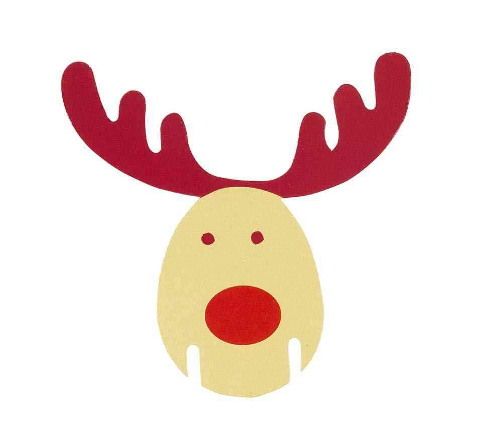 patrones de Navidad reno