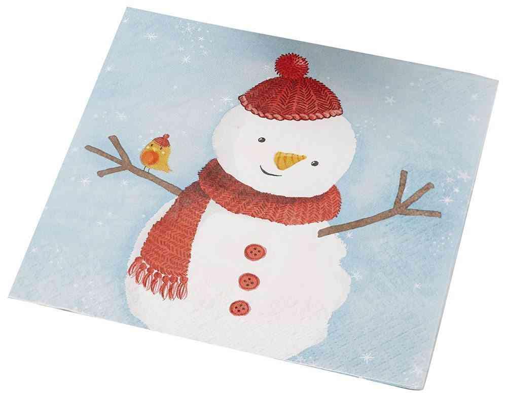 patrones de Navidad snowman
