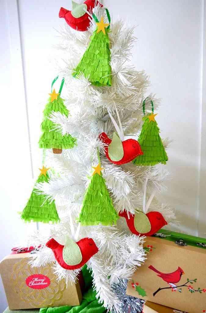 tutoriales de Navidad pinata decorar el arbol
