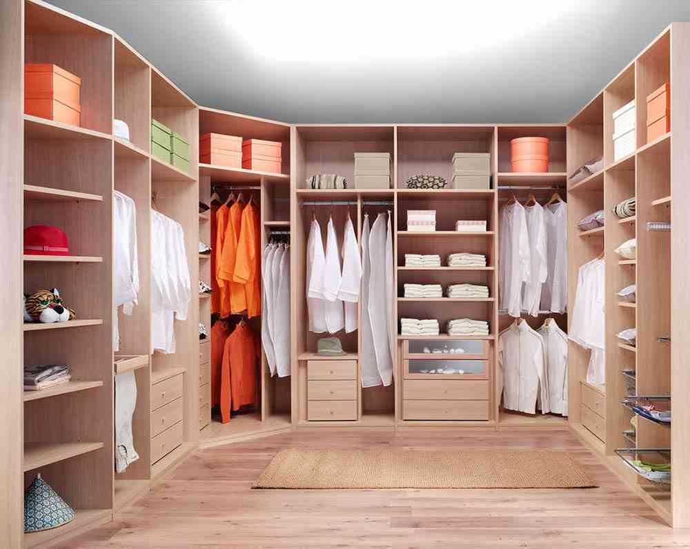 Claves para dise ar el interior del armario empotrado for Distribucion de armarios empotrados por dentro