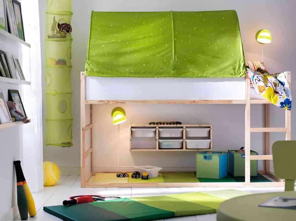 Las ventajas de las camas altas para ni os for Cama nino ikea
