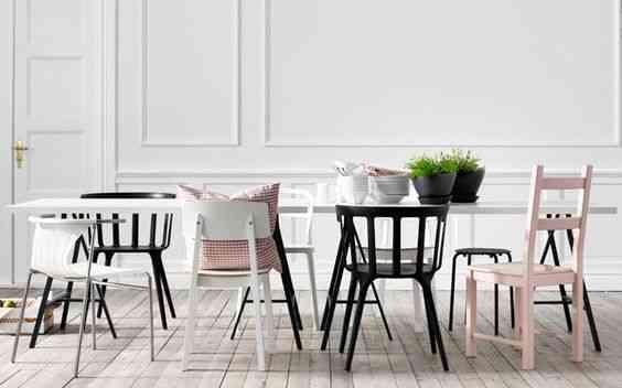 combinar distintos estilos de silla I