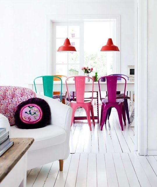 combinar distintos estilos de silla II