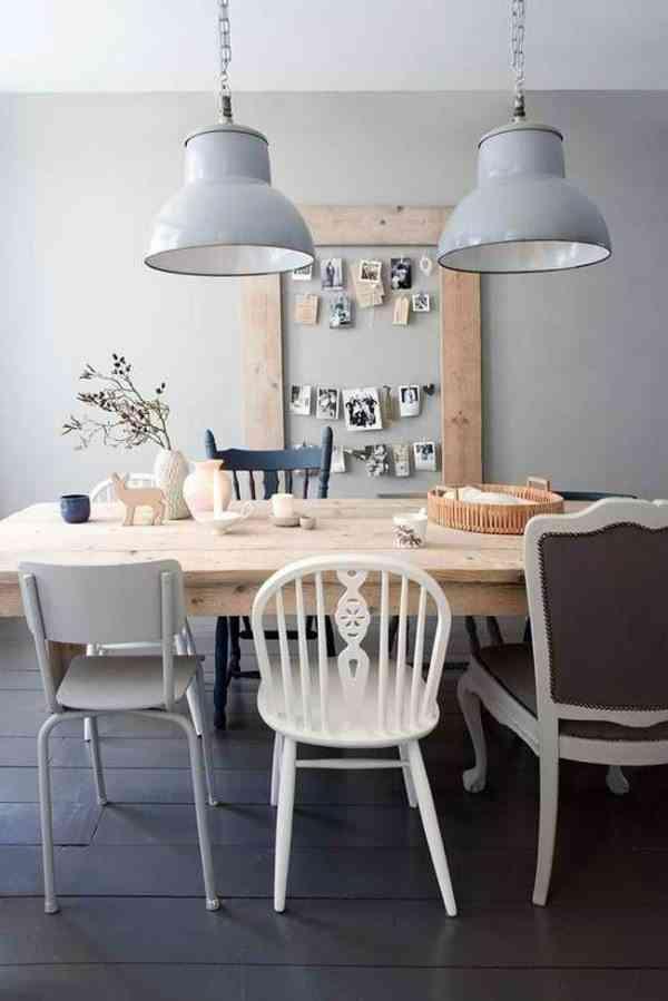 combinar distintos estilos de silla IX