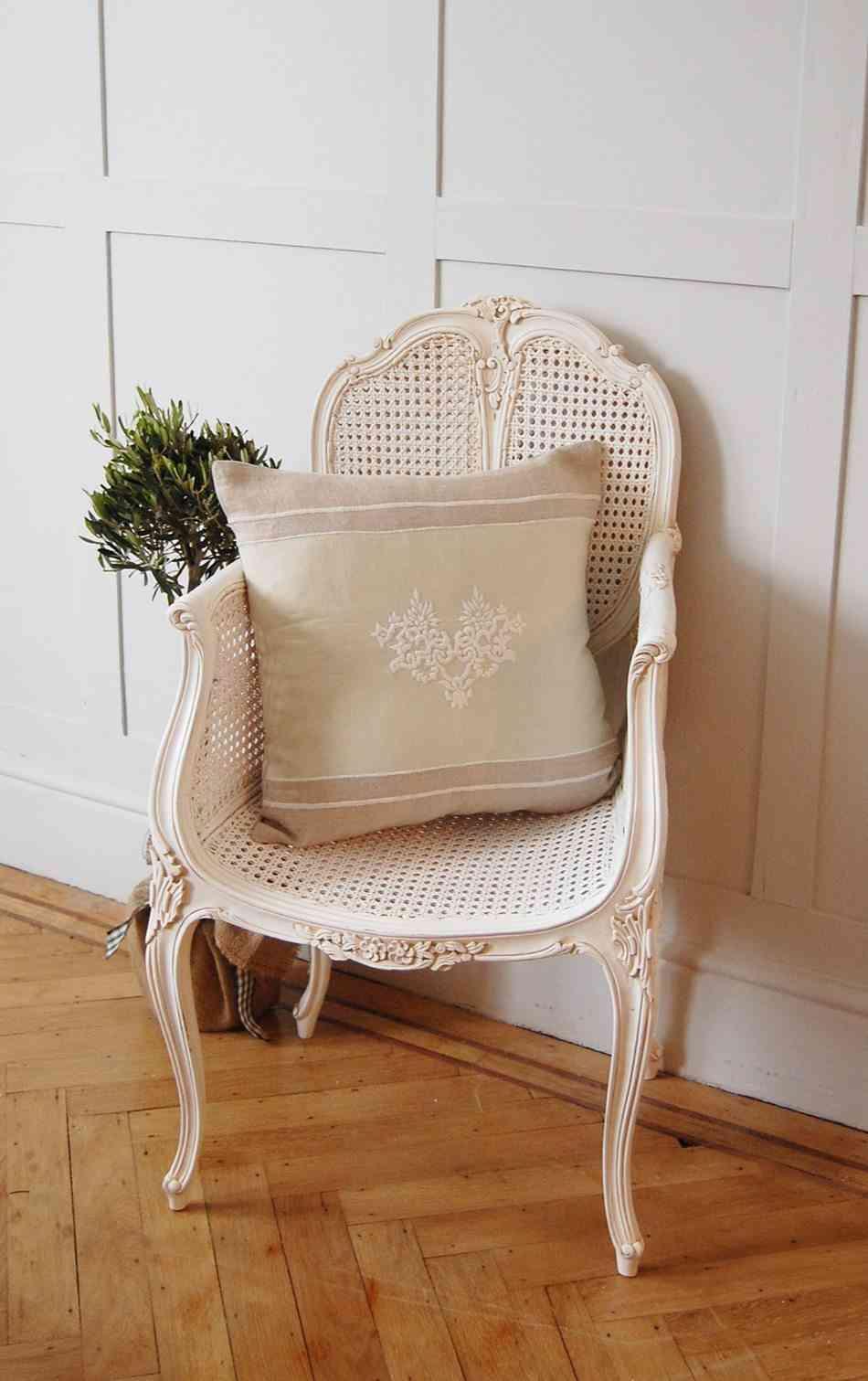 decorar tu casa al estilo shabby chic silla sweetpea