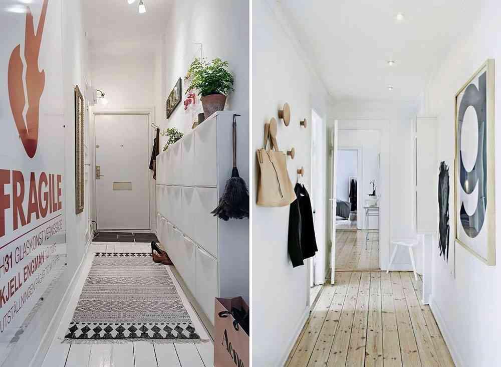 C mo decorar un pasillo estrecho para sacarle el m ximo for Mueble pasillo estrecho