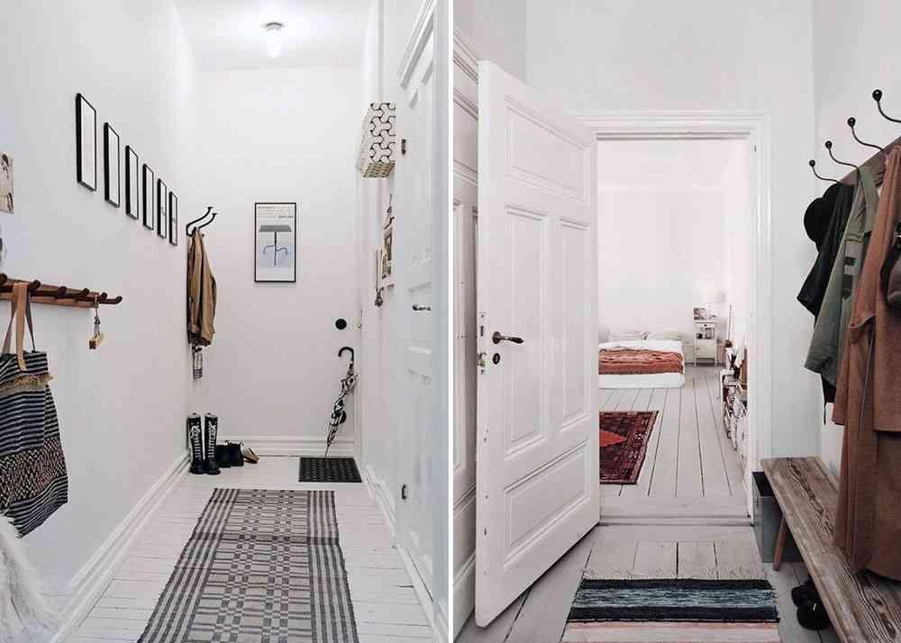 decorar un pasillo estrecho para sacarle el máximo partido