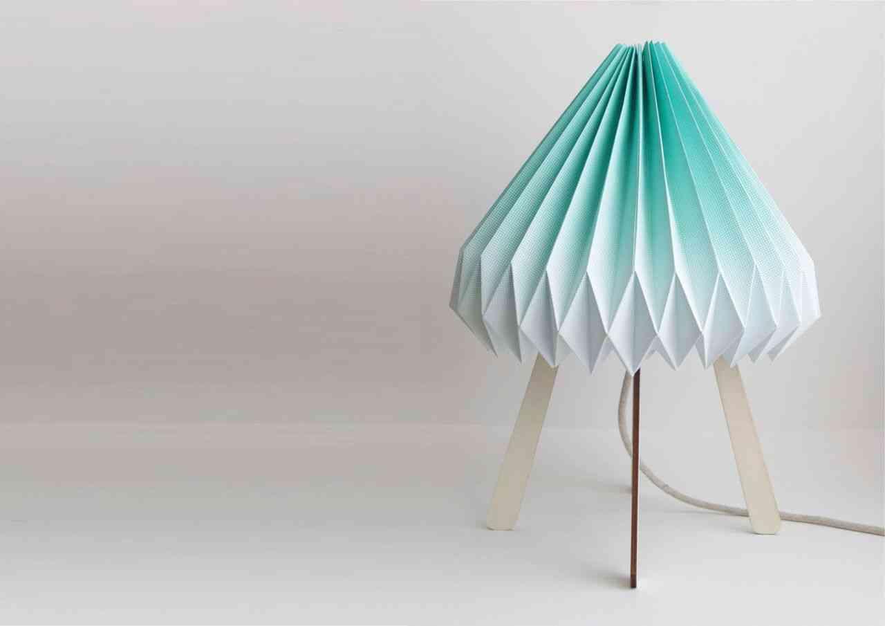diseno espanol - lampara de papel - lámparas de diseño español