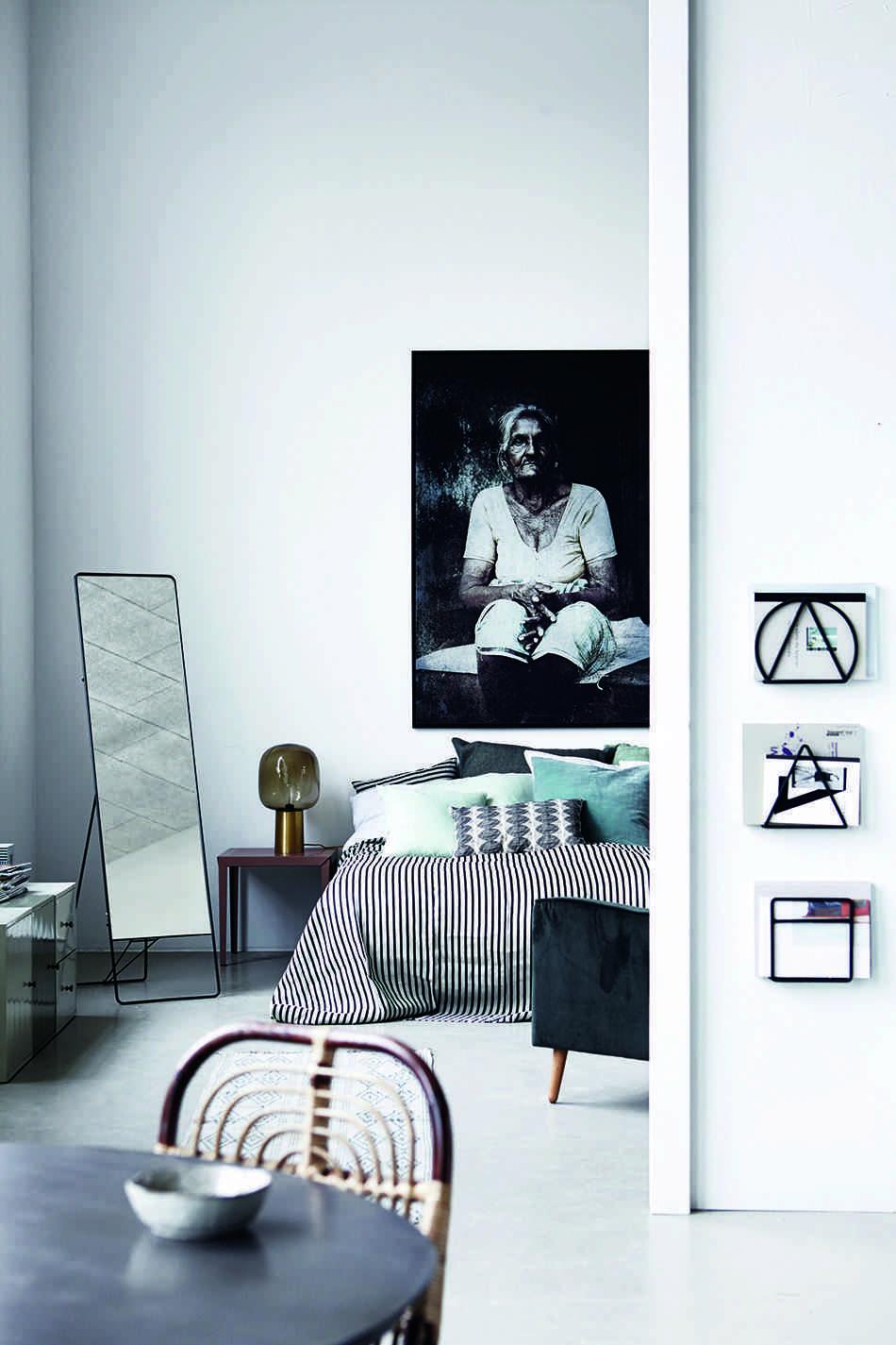 dormitorio de estilo nordico housedoctor cuadro