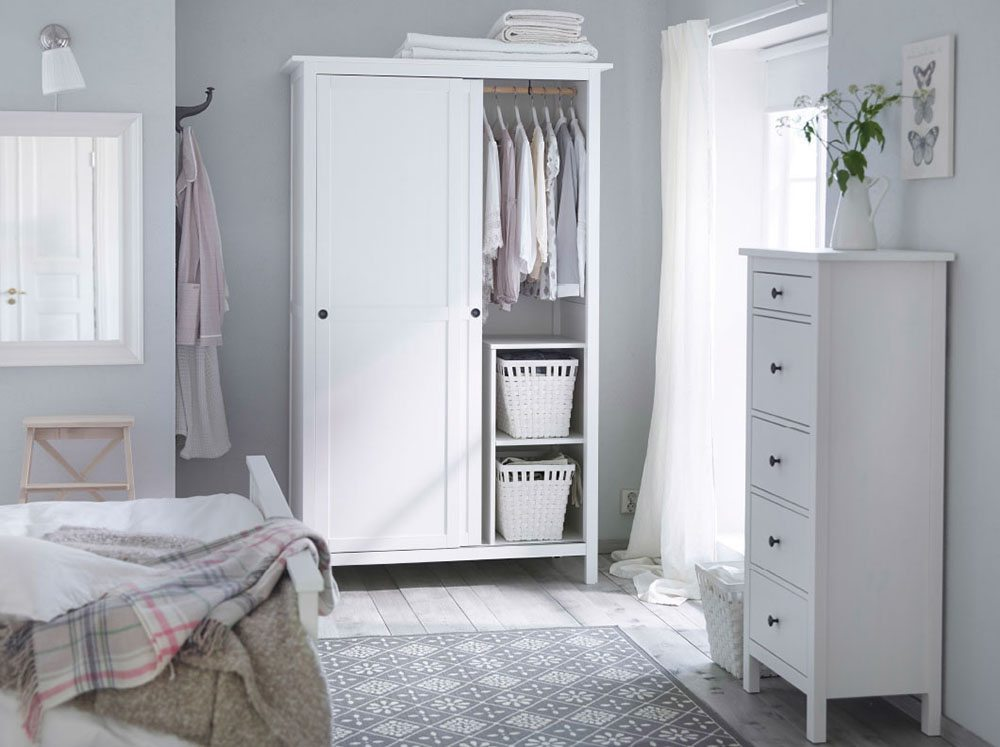 5 claves de los dormitorios de estilo n rdico for D i y bedroom cupboards