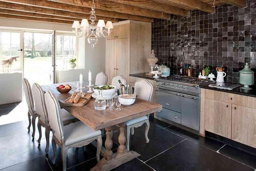 estilo belga cooldecorationideas cocina