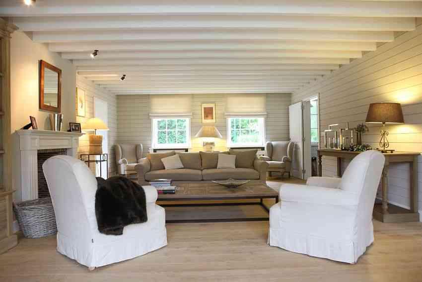 estilo belga cooldecorationideas sillones blancos