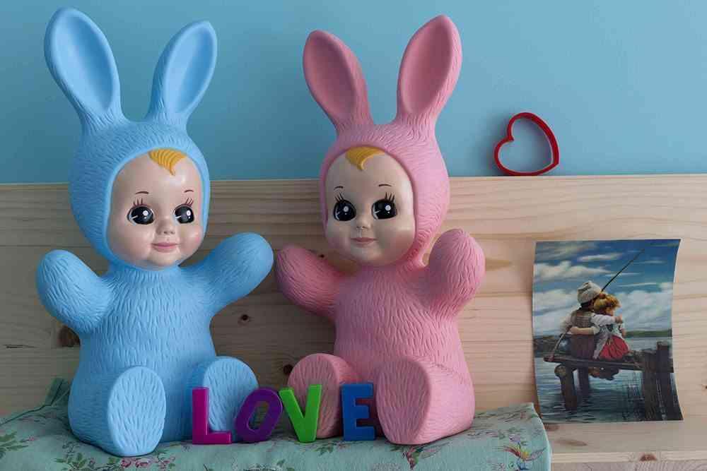 iluminacion de las habitaciones infantiles conejo quitamiedo