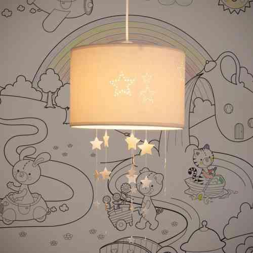 iluminacion de las habitaciones infantiles maison techo