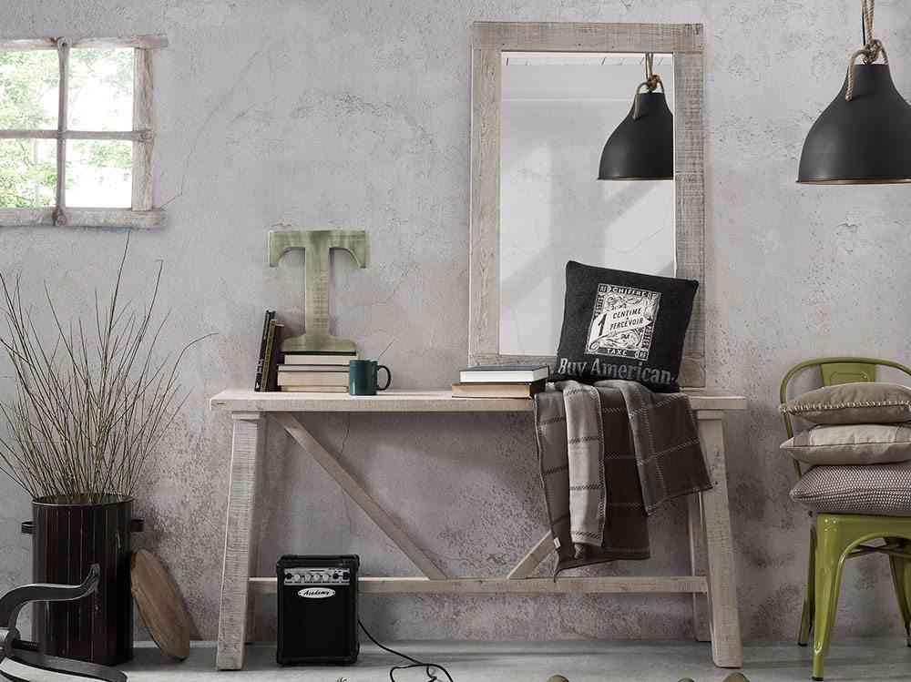 muebles de madera reciclada portobello consola