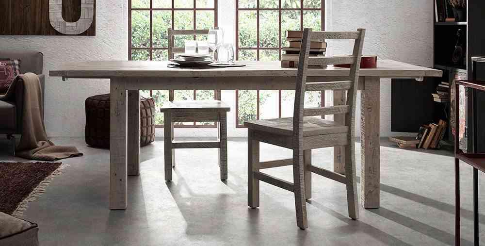 muebles de madera reciclada portobello mesa comedor