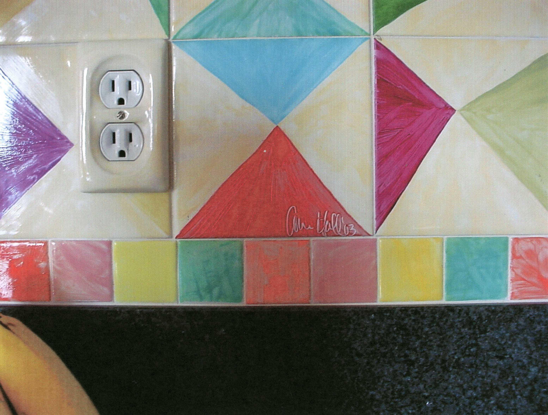 Pintar los azulejos de la cocina