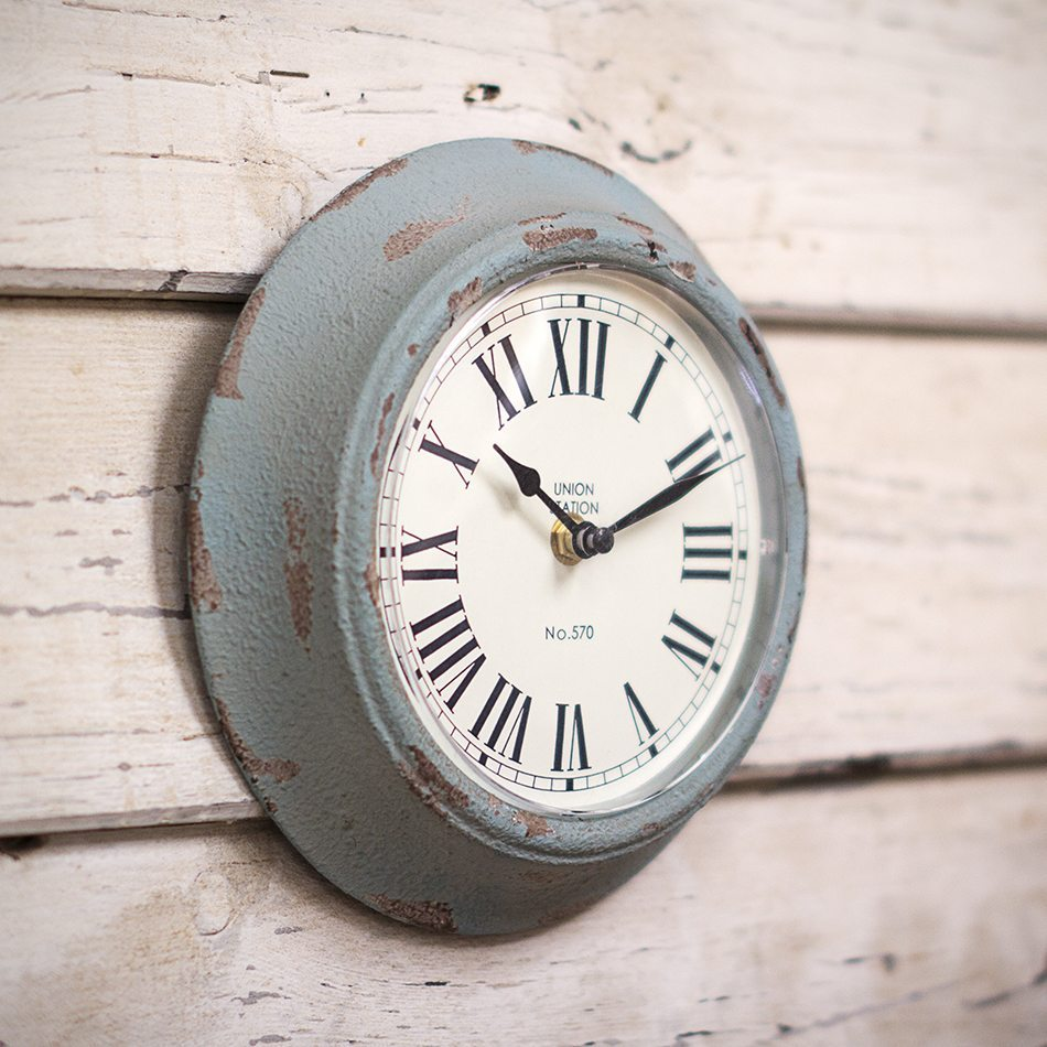 relojes de pared modernos hierro vintage