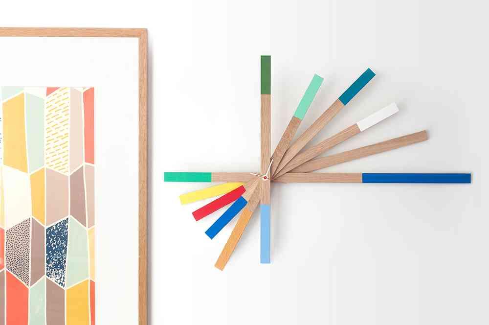 10 relojes de pared modernos que te encantar n - Reloj pared diseno ...