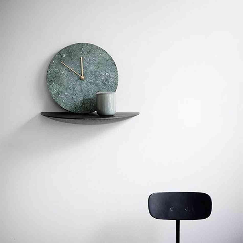 relojes de pared modernos marmol verde